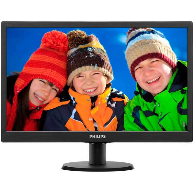 "Philips 193V5LSB2 18.5"", Черный"