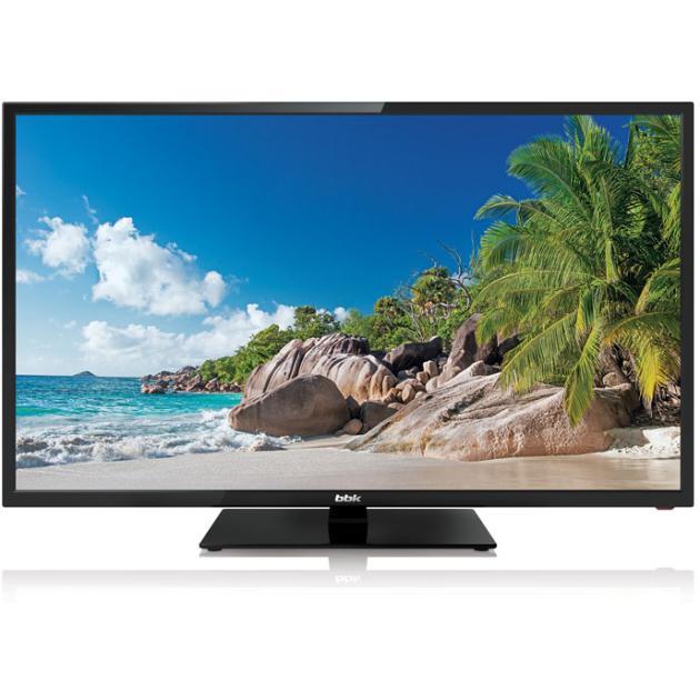 """BBK LEM-1026/TS2C 24"""", Черный, 1366x768, без Wi-Fi, Вход HDMI"""
