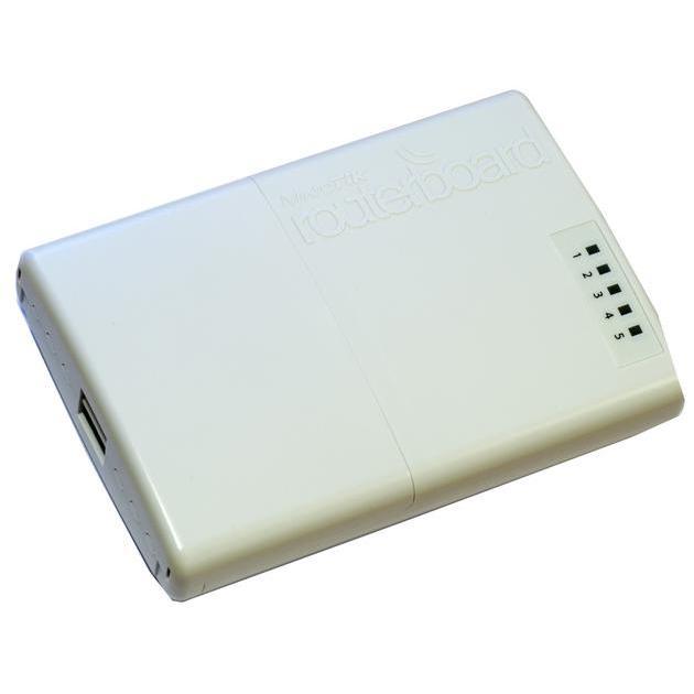 Mikrotik RB750P-PB Белый, 300Мбит/с, 2.4 Белый, 300Мбит/с, 2.4