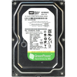 Western Digital AV-GP WD1600AVVS