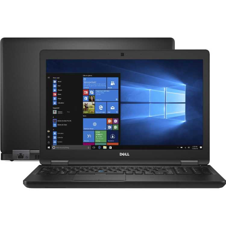 "Dell Latitude 5580-9224 15.6"", Intel Core i5, 2800МГц, 8Гб RAM, 256Гб, Черный, Windows 10 Pro"