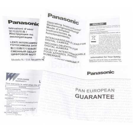 Panasonic 35-100mm f/4.0-5.6 G Vario Asph./Mega O.I.S. Стандартный, Micro 4/3