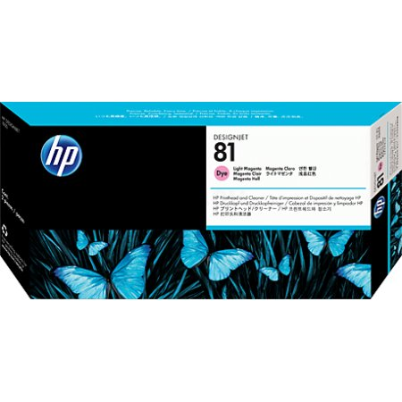 HP Inc. HP PrintHead № 81 DJ5000/5000PS/5500/5500PS, Light Magenta