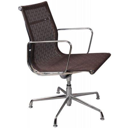 Кресло Бюрократ CH-996-Low-L/007 низкая спинка сиденье коричневый сетка