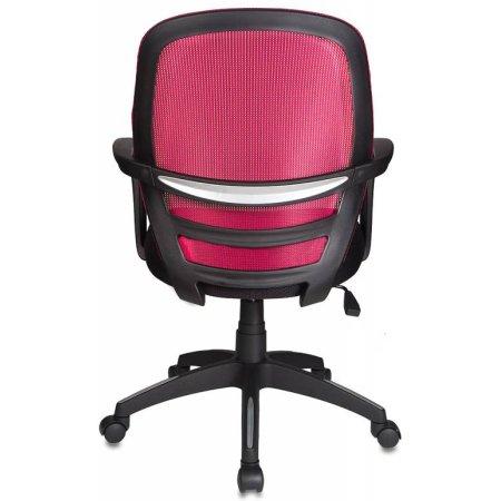 Кресло Бюрократ CH-499/Z5/TW-11 спинка сетка бордовый Z5 сиденье черный TW-11