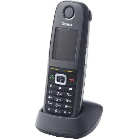 Gigaset R650H Pro Черный, Дисплей, 1, 1
