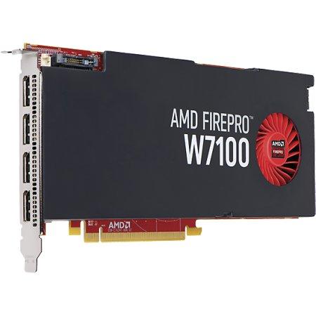 HP AMD FirePro W7100 8192Мб, GDDR5, 4xDisplayPort