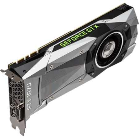 MSI NVIDIA GeForce GTX 1070 Founders 8192Мб, GDDR5, 1506MHz, PCI-Ex16 3.0, 8pin x 1