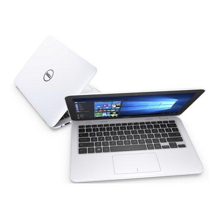 "Dell Inspiron 3162-4780 11.6"", Intel Celeron, 1600МГц, 2Гб RAM, DVD нет, 32Гб, Белый, Wi-Fi, Windows 10, Bluetooth"
