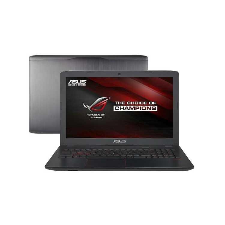 "ASUS ROG GL552VX-DM365T 15.6"", Intel Core i5, 2300МГц, 12Гб RAM, 1000Гб, Windows 10 Домашняя"