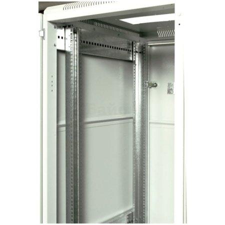 ЦМО Шкаф телекоммуникационный напольный 27U (600x1000) дверь стекло (3 места), [ ШТК-М-27.6.10-1ААА ]