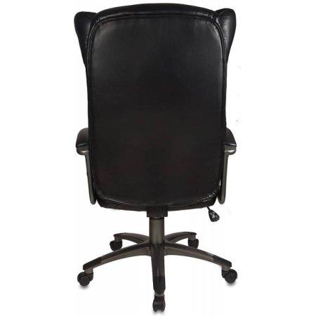 Кресло руководителя Бюрократ CH-879DG/Black черный искусственная кожа пластик темно-серый
