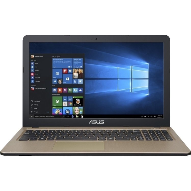"Asus VivoBook X540LJ-XX569T 15.6"", Intel Core i3, 2000МГц, 4Гб RAM, DVD-RW, 500Гб, Windows 10, Bluetooth"