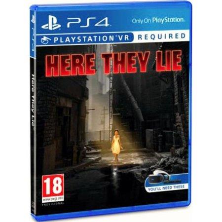 Here They Lie Русский язык, Sony PlayStation 4, приключения
