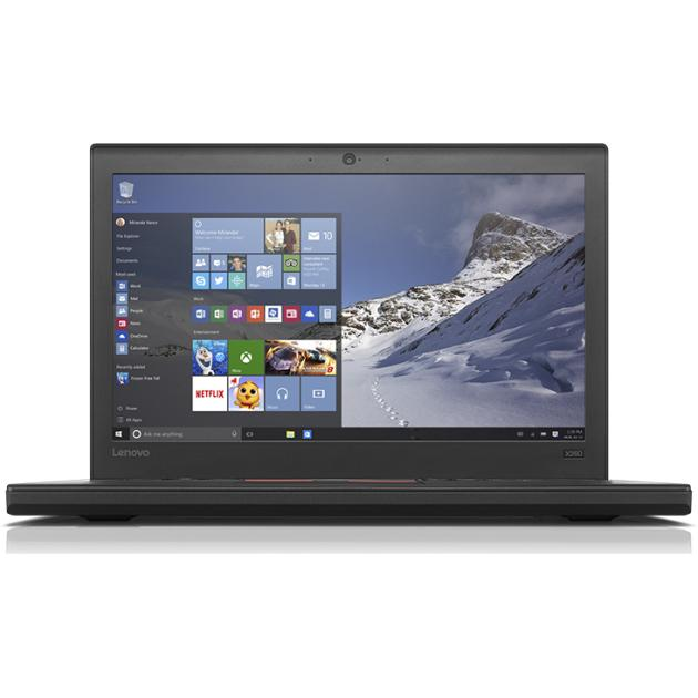 Lenovo ThinkPad X260 12.5, Intel Core i5, 2300МГц, 4Гб RAM, 500Гб, Черный, Windows 10 Pro, 3G