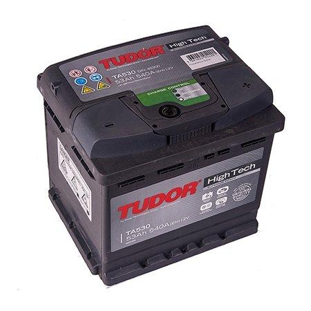 Аккумулятор TUDOR High-Tech 53Ач, обратная полярность (TA530)