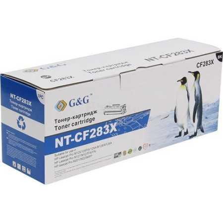 HP CF283X Картридж лазерный, Тонер-картридж, Черный, Стандартная, нет