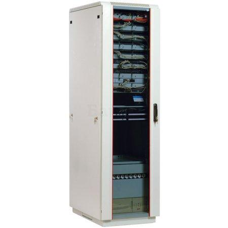 ЦМО Шкаф телекоммуникационный напольный 33U (600x800) дверь стекло (3 места), [ ШТК-М-33.6.8-1ААА ]