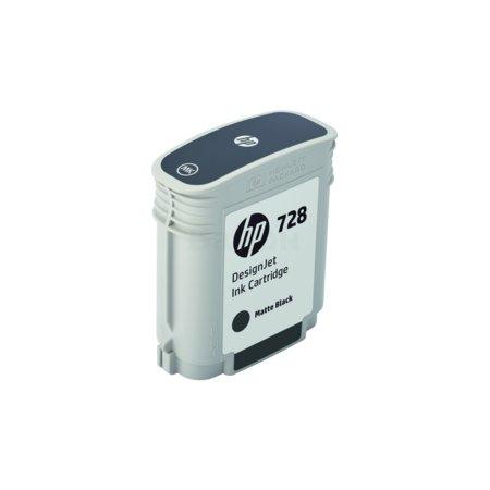 HP 728 Матовый черный, Картридж струйный, Стандартная, нет