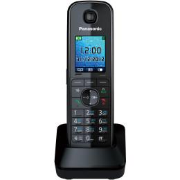 Трубка доп. Dect Panasonic KX-TGA815RUB черный для KX-TG81xx