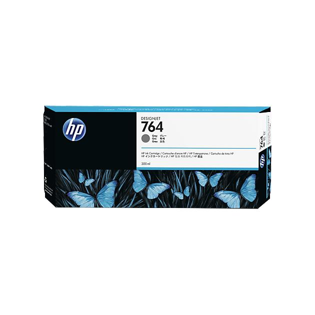 HP 764 Серый, Картридж струйный, Стандартная, нет