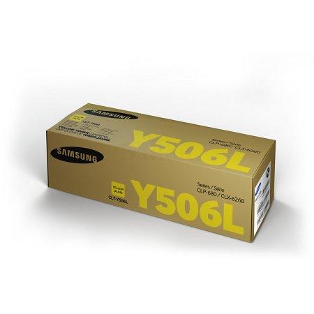 Samsung CLT-Y506L Желтый, Тонер-картридж, Стандартная, Желтый