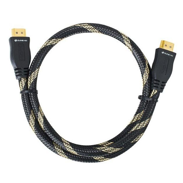 Кабель HDMI Dune 3.0m,ethernet,черный
