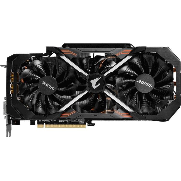 Gigabyte GeForce GTX 1080 Turbo OC 8G 8192Мб, GDDR5X, PCI-E 3.0
