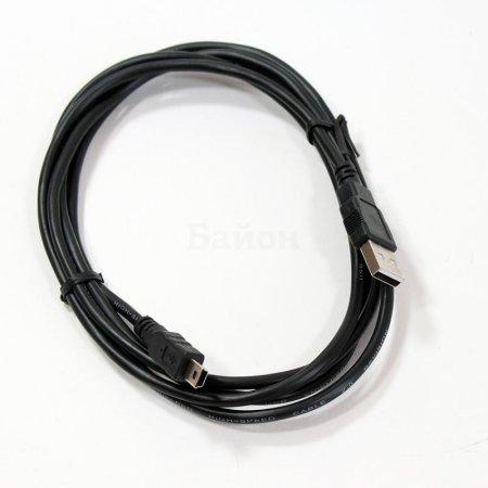 Telecom TC6911BK-1.8M 1.8м, Мини-USB, USB, Черный
