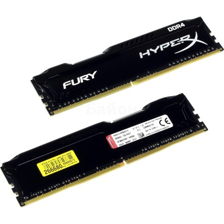 Kingston HX421C14FB2K2/16 DDR4, 16Гб, PC4-17000, 2133, DIMM