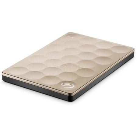 Seagate Backup Plus Ultra Slim 2000, Золотой