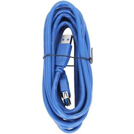 5Bites USB 3.0 AM-> AF, 3 м 3м, USB-A, Синий