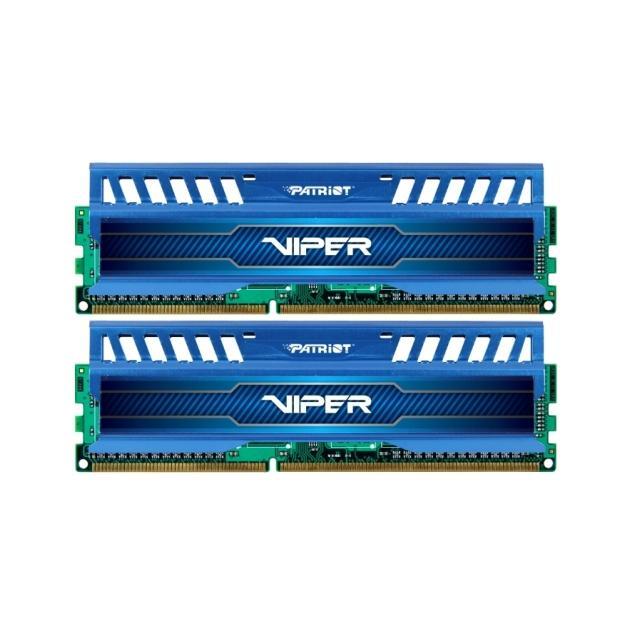 Patriot Memory PV38G160C9KBL DDR3, 8Гб, PC3-12800, 1600, DIMM