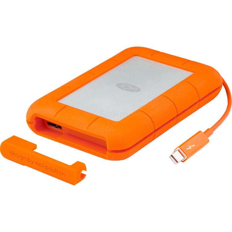 LaCie Rugged Thunderbolt USB-C 2Tb 4 Тб
