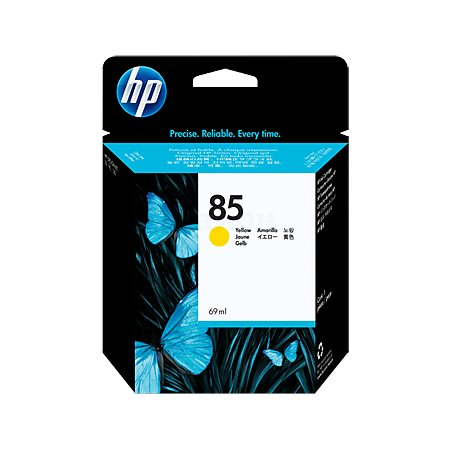 HP 85 Желтый, Картридж струйный, Повышенная, нет