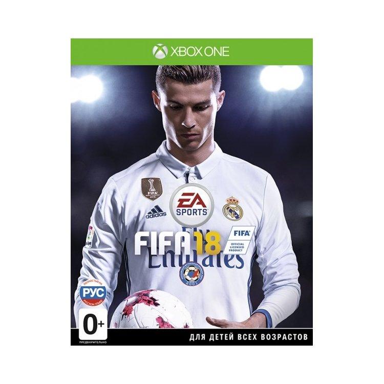 FIFA 18 Xbox One, стандартное издание, Русский язык