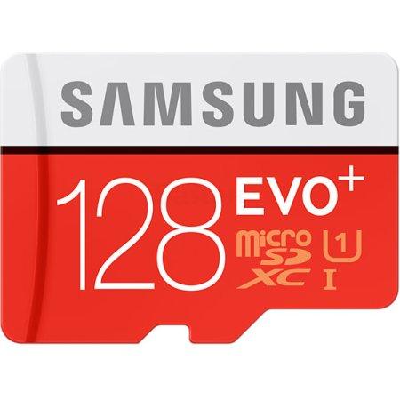 Samsung EVO Plus MB-MC128DA/RU microSDXC, 128Гб, Class 10