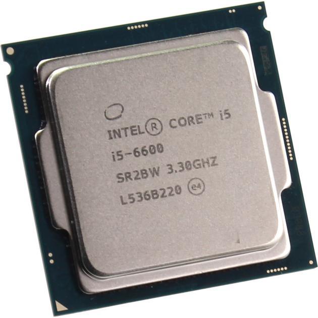 Intel Core i5-6600K 4 ядра, 3500МГц, Box
