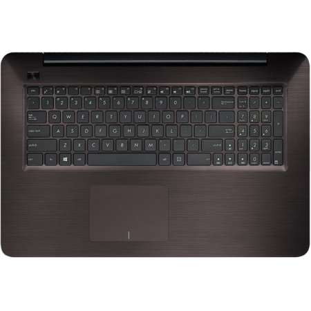 "Asus X756UA-TY018T 17.3"", Intel Core i5, 2.3МГц, 6Гб RAM, DVD-RW, 1Тб, Черный, Wi-Fi, Windows 10 Домашняя, Windows 10, Bluetooth"