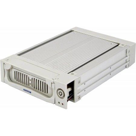 "Сменный бокс для HDD AgeStar AMR1- SATA(K)-1F SATA алюминий серебристый 3.5"""