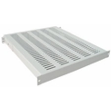 "19"" 1U HEAVY DUTY FIXED SHELF d=400mm"
