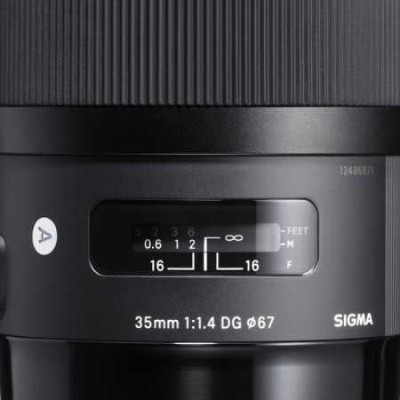 Sigma AF 35mm f/1.4 DG HSM