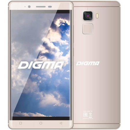 Digma S502 3G VOX 8Гб, Золотой, Dual SIM, 3G