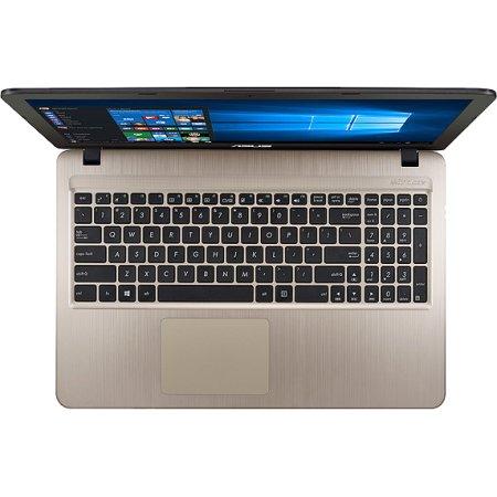 "Asus VivoBook X540SC-XX041T 15.6"", Intel Pentium, 1600МГц, 4Гб RAM, DVD-RW, 1Тб, Коричневый, Wi-Fi, Windows 10, Bluetooth"