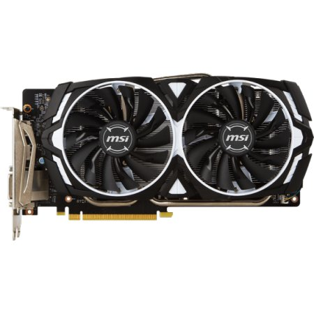 MSI NVIDIA GeForce GTX 1060 ARMOR 6144Мб, GDDR5, 1544MHz, PCI-Ex16 3.0