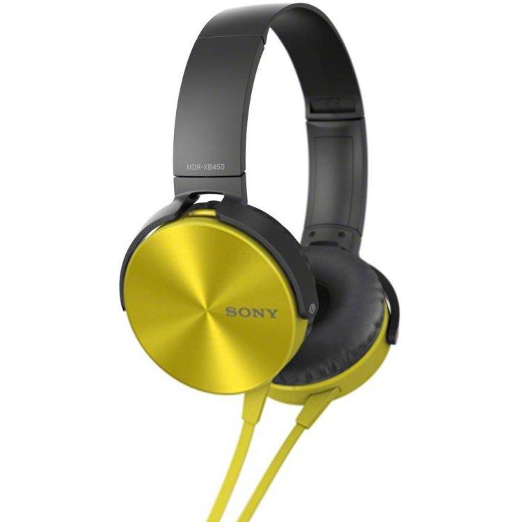 Sony MDRXB450AP Yellow