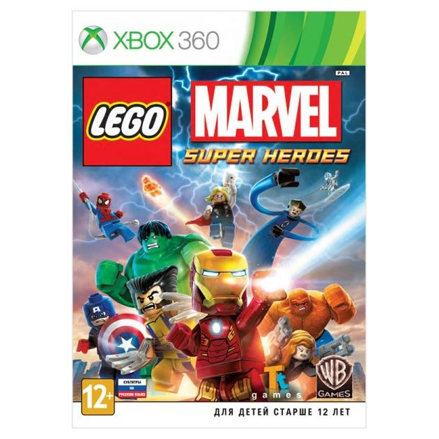 LEGO Marvel Super Heroes Xbox 360, русские субтитры