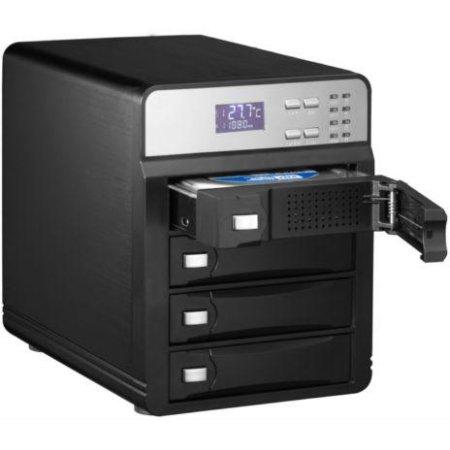 """Внешний корпус для HDD AgeStar 3C4B3A1 SATA II алюминий черный LCD 3.5"""""""