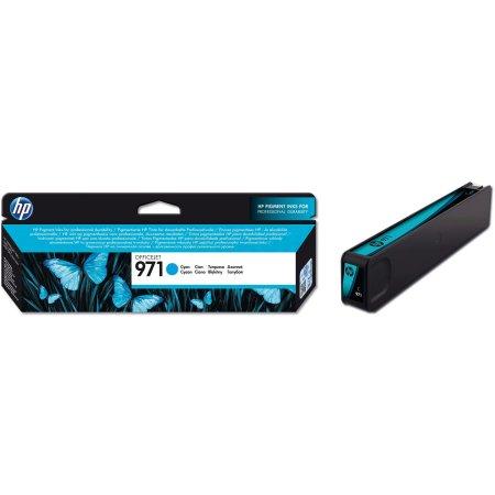 HP 971 Голубой, Картридж струйный, Стандартная, нет