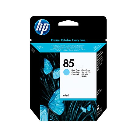 HP 85 Светло-голубой, Картридж струйный, Повышенная, нет